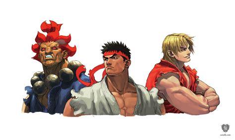 Artwork Akuma Ryu Ken Capcom