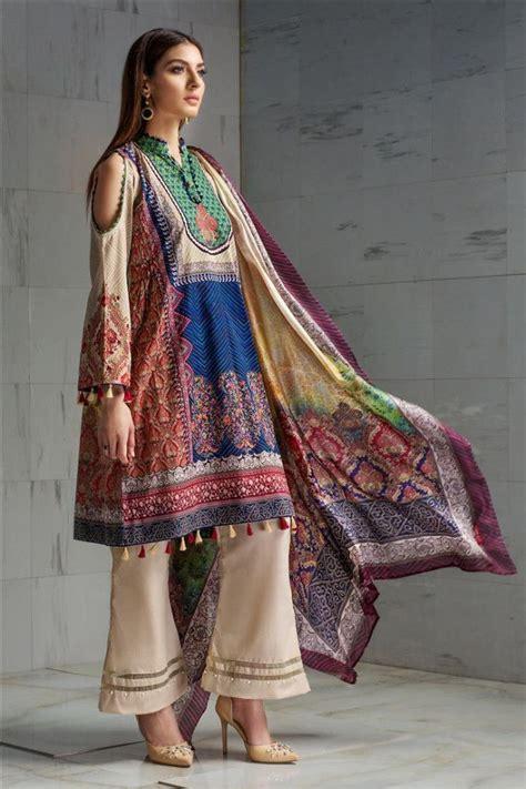 beautiful lawn frock designs kurtis  pakistani girls