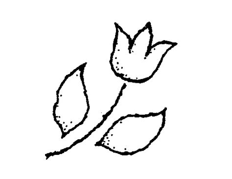 tulip clipart black and white tulip black and white clipart clipart suggest