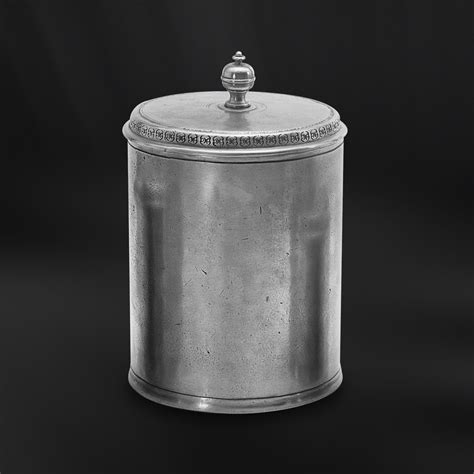 Kitchen Canisters Pewter by Pewter Canister Italian Pewter Gifts