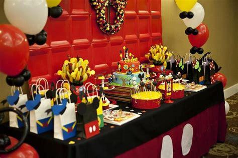 karas party ideas mickey  friends birthday party