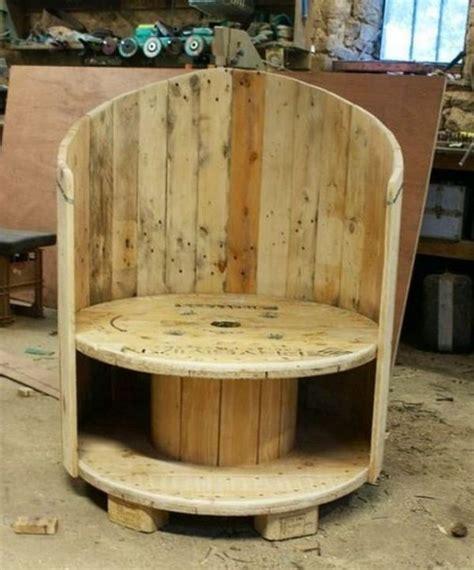 fauteuil palette avec touret creation palette