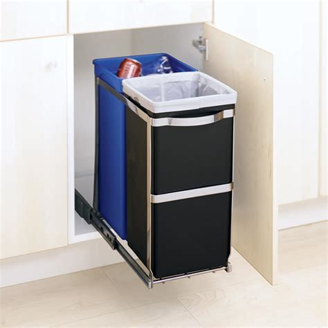 simplehuman in cabinet trash can simplehuman in cabinet trash can inspirative cabinet