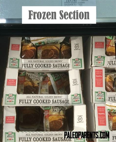 costco frozen section food shopping list