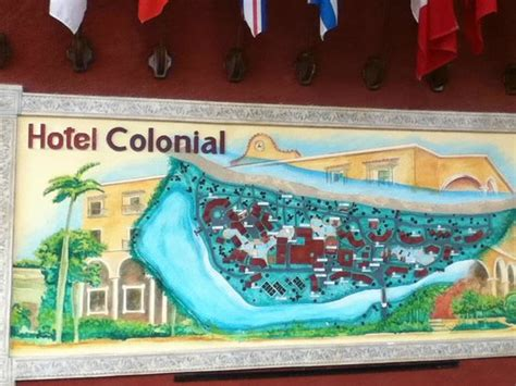 Map Grounds Picture Hotel Colonial Cayo Coco