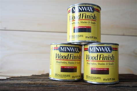 Minwax Floor Cleaner Home Depot by Minwax Staining Trials On Shiplap Paneling Merrypad