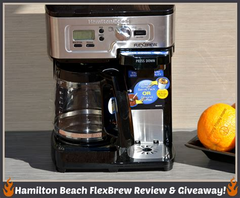 I love how the hamilton beach 2 way flexbrew coffee maker model # 49976 it has a side for single serve k cup or ground coffee and the other side is 12 cups programmable carafe. Hamilton Beach Flexbrew Single Serve Coffee Maker Manual