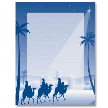 wise men paperframes border papers  paperdirect