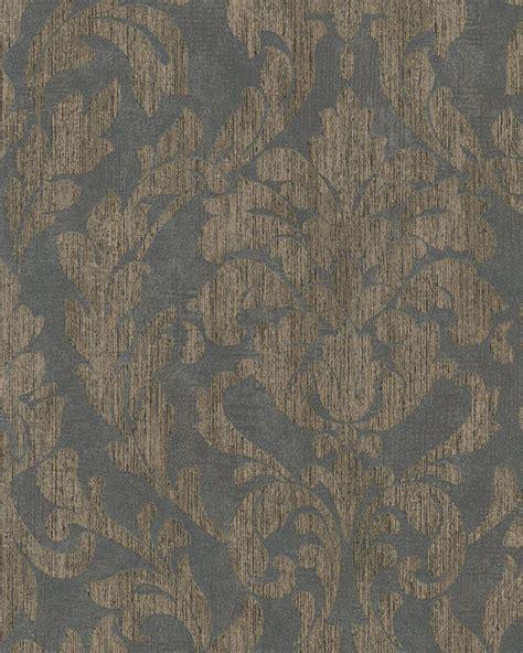 Tapete Gold Grau by Tapete Vlies Ornamente Glanz Grau Gold Marburg 58037