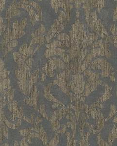 Tapete Ornamente Grau : tapete vlies ornamente glanz grau gold marburg 58037 ~ Buech-reservation.com Haus und Dekorationen