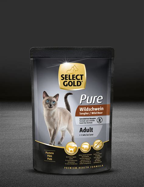 select gold pure adult wildschwein select gold