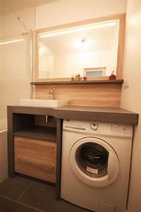 meuble vasque machine a laver With meuble machine a laver encastrable