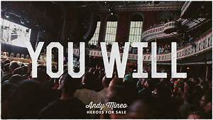 Andy Mineo - You Will (@AndyMineo @reachrecords) - YouTube  You