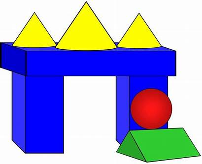 Clip Solids Geometric Clipart Math Fun Bears