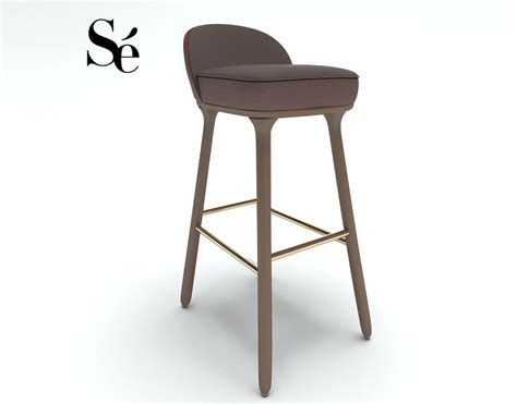 se bar chair 3d model max obj fbx cgtrader