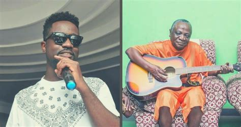 Video: This is what happened when Nana Ampadu visited Sarkodie