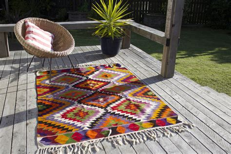 dramatic gorgeous colorful area rugs  modern