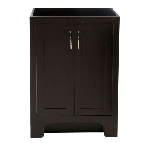 24 x 21 vanity cabinet design house ventura 24 in w x 21 in d two door