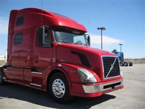 red volvo truck 2007 volvo 780 lone mountain truck leasing youtube