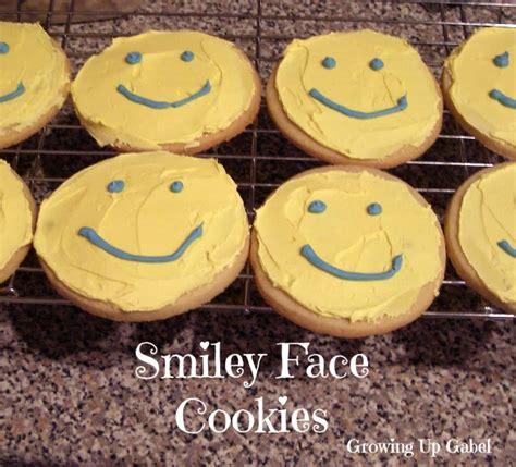 Smiley Face Sugar Cookies
