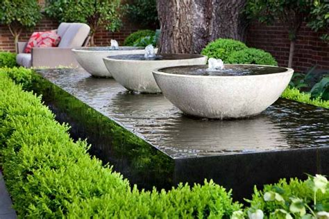 garden water features starting points for small yard landscaping gardening