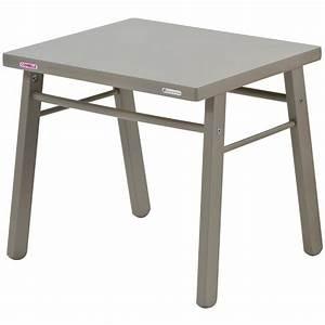 Table Enfant Bois : table d 39 enfant en bois massif laque gris clair ~ Teatrodelosmanantiales.com Idées de Décoration
