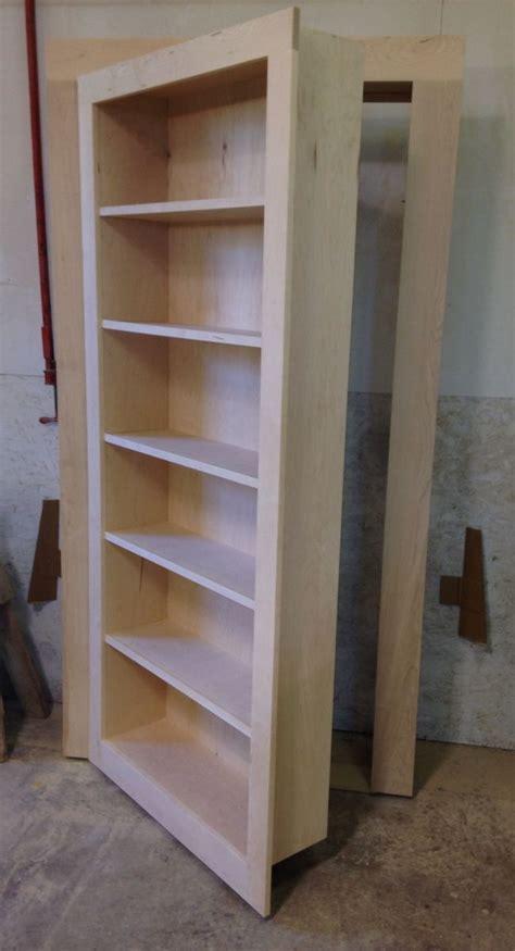 handmade secret bookcase door  customcraft homes