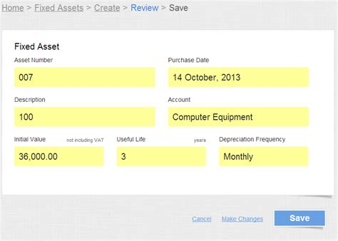 sample fixed assets register format