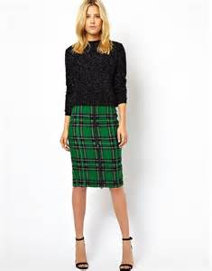 asos plaid skirt 17 skirts that ll make you feel festive
