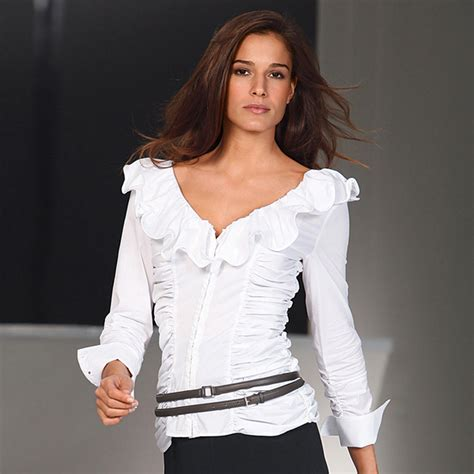 the blouse buy diego reiga ruffled blouses