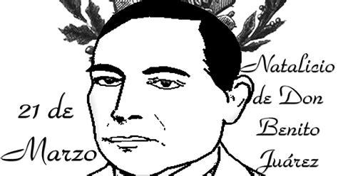 Benito Juarez Imagenes Para Colorear