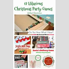 12 Days Of Christmas Ideas  Fun Christmas Party Games