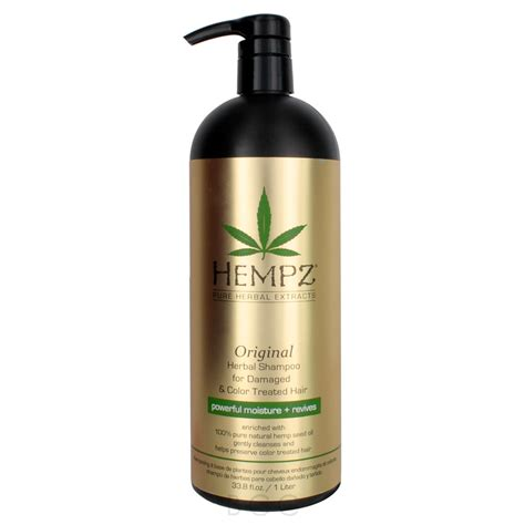 shoo for color treated hair hempz original herbal shoo for damaged color treated