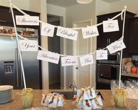 diy bridal party decorations a bridal shower check off list