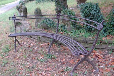 panchine ferro battuto giardini