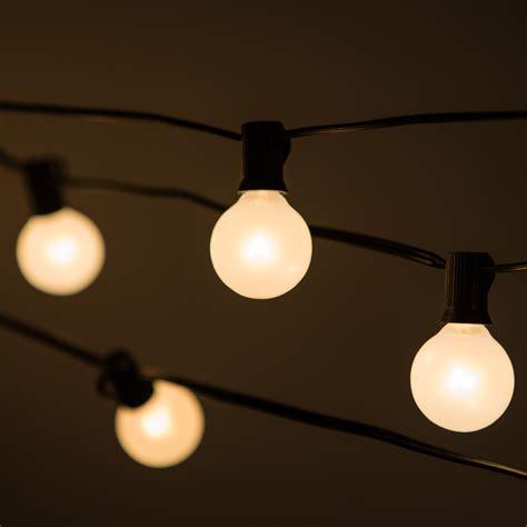 string lights hometownevolutioninc 50 light globe string lights