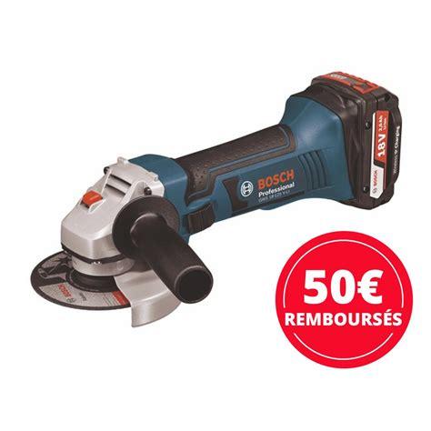 Disqueuse Bosch Sans Fil Meuleuse Sans Fil 18 V Gws 18 125 Vli Sans Batterie Bosch Bricozor