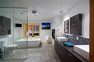emejing salle de bain grande douche ideas lalawgroupus With idea groupe salle de bain