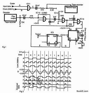 Tape Recorder Interface - Basic Circuit