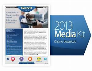 for the record magazine advertising With advertising media kit template