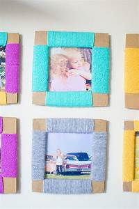 how to make picture frames How To Make A Cardboard DIY Photo Frame