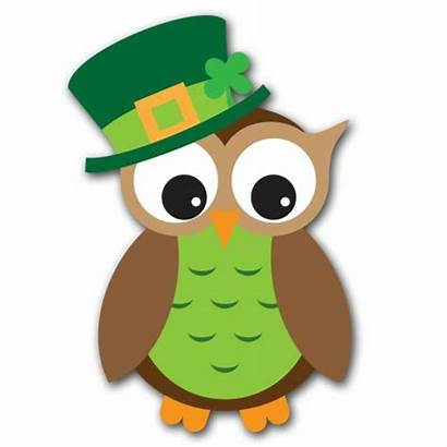 Clip March Clipart St Patricks Owl Patrick