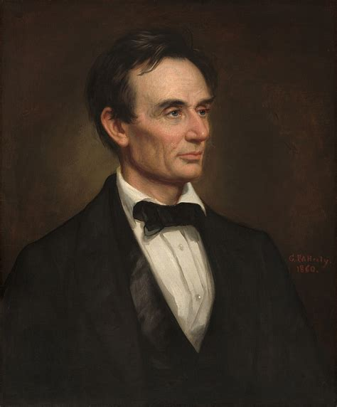 File:Portrait of Abraham Lincoln (by George Peter ...