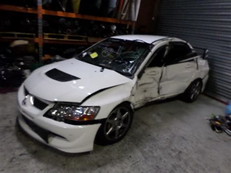 Mitsubishi Lancer 2003 Parts by Wrecking Parts Mitsubishi Lancer Evo 8 Spec Evolution