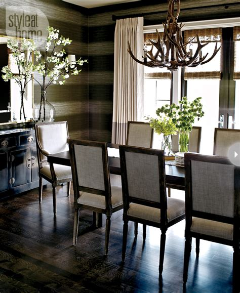 Rustic Chic Dining Room Ideas Interior Cozy Chic Style At Home