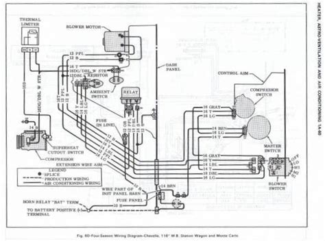 Ac Wiring Diagram 68 Mustang by 68 Mustang Instrument Wiring Diagram Auto Electrical