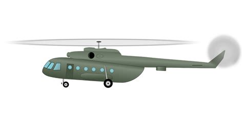 Free Vector Graphic Helicopter, Chopper, Army  Free Image On Pixabay 40880