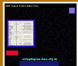 2000 Toyota Tundra Radio Fuse  Wiring Diagram 1849