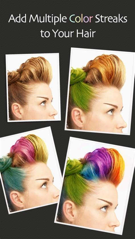 color hair app hair color booth free app for ios review ipa