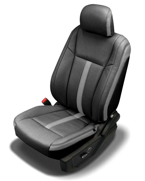 Auto Seat Upholstery by Two Tone Blue Leather Custom Car Upholstery